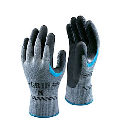 Super Grip 330 gloves in black
